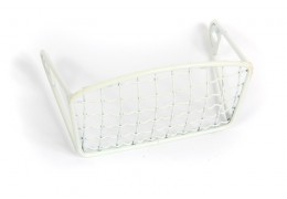 Euro Headlight Grill -White